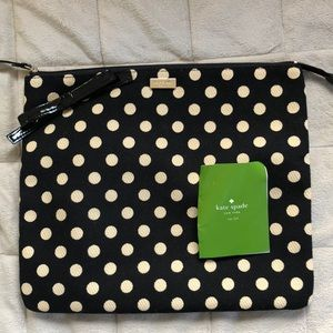 🆕 ♠️ Kate Spade Polka Dot Pouch Clutch - iPad